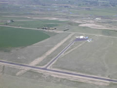 Aerial photo of 7S1 (Twin Bridges Airport)