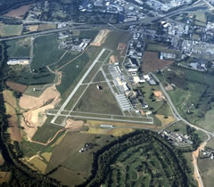 Aerial photo of KFDK (Frederick Municipal Airport)