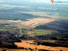 Aerial photo of KCPK (Chesapeake Regional Airport)