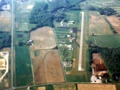 Aerial photo of KGEO (Brown County Airport)