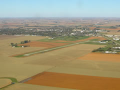 Aerial photo of KPQN (Pipestone Municipal Airport)