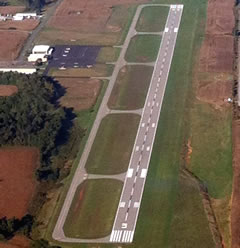 Aerial photo of KEKX (Addington Field Airport)