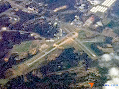 Aerial photo of KDAN (Danville Regional Airport)