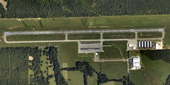 Aerial photo of 1A9 (Prattville Airport - Grouby Field)