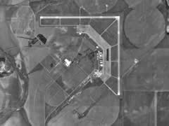 Aerial photo of KLWV (Lawrenceville-Vincennes International Airport)