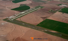 Aerial photo of 2F5 (Lamesa Municipal Airport)