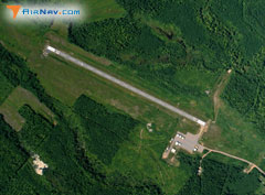Aerial photo of KOGM (Ontonagon County Airport - Schuster Field)