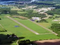 Aerial photo of KAHH (Amery Municipal Airport)