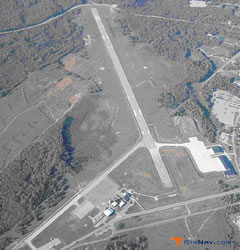 Aerial photo of KTBN (Waynesville-St. Robert Regional Airport-Forney Field)
