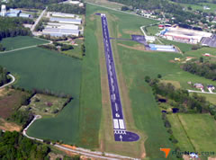 Aerial photo of 0A3 (Smithville Municipal Airport)