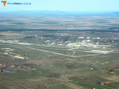 Aerial photo of KSKA (Fairchild Air Force Base)