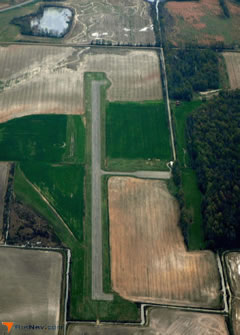 Aerial photo of M60 (Woodruff County Airport)