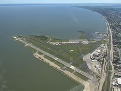 Aerial photo of KNEW (Lakefront Airport)