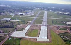 Aerial photo of KGYY (Gary/Chicago International Airport)
