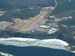 Aerial photo of 0B5 (Turners Falls Airport)