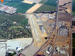 Aerial photo of KTLR (Mefford Field Airport)