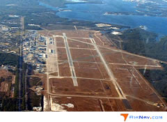 Aerial photo of KPAM (Tyndall Air Force Base)