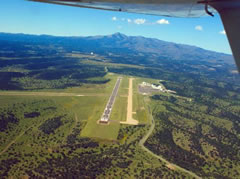 Aerial photo of KSRR (Sierra Blanca Regional Airport)