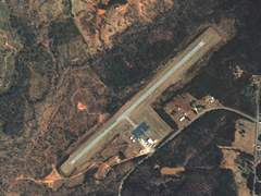 Aerial photo of 35A (Union County Airport, Troy Shelton Field)