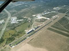 Aerial photo of KJCT (Kimble County Airport)