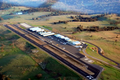 Aerial photo of KCPU (Calaveras County Airport - Maury Rasmussen Field)