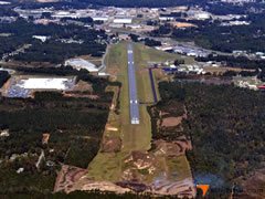 Aerial photo of KALX (Thomas C Russell Field Airport)