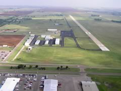 Aerial photo of KELK (Elk City Regional Business Airport)