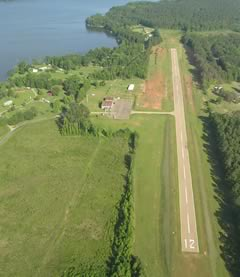 Aerial photo of 5F4 (Homer Municipal Airport)