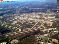 Aerial photo of KDFW (Dallas-Fort Worth International Airport)