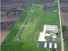 Aerial photo of C09 (Morris Municipal Airport-James R. Washburn Field)