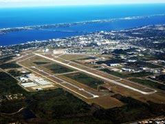 Aerial photo of KMLB (Melbourne International Airport)
