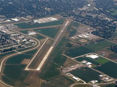 Aerial photo of KFET (Fremont Municipal Airport)