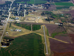 Aerial photo of KOIN (Oberlin Municipal Airport)