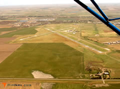 Aerial photo of KDDC (Dodge City Regional Airport)