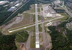Aerial photo of KAVP (Wilkes-Barre/Scranton International Airport)