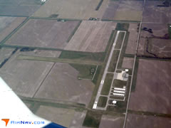Aerial photo of KOXI (Starke County Airport)