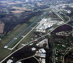 Aerial photo of KLBE (Arnold Palmer Regional Airport)