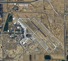 Aerial photo of KIWA (Phoenix-Mesa Gateway Airport)