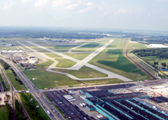 Aerial photo of KEVV (Evansville Regional Airport)