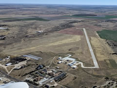 Aerial photo of KSYF (Cheyenne County Municipal Airport)