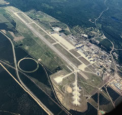 Aerial photo of KSAW (Sawyer International Airport)