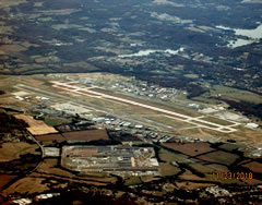 Aerial photo of KTYS (Mc Ghee Tyson Airport)