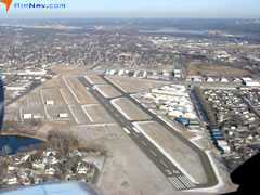 Aerial photo of KSGS (South St Paul Municipal Airport-Richard E Fleming Field)