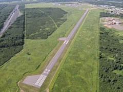 Aerial photo of KSUW (Richard I Bong Airport)