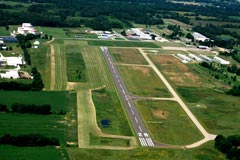 Aerial photo of KRMY (Brooks Field Airport)