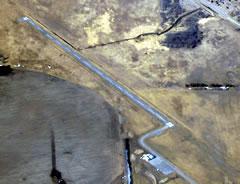 Aerial photo of D14 (Fertile Municipal Airport)
