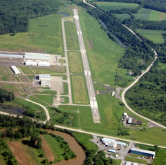 Aerial photo of KPJC (Zelienople Municipal Airport)