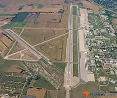 Aerial photo of KSLN (Salina Regional Airport)