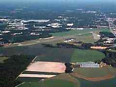 Aerial photo of KDQH (Douglas Municipal Airport)