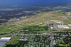 Aerial photo of KSTL (St Louis Lambert International Airport)